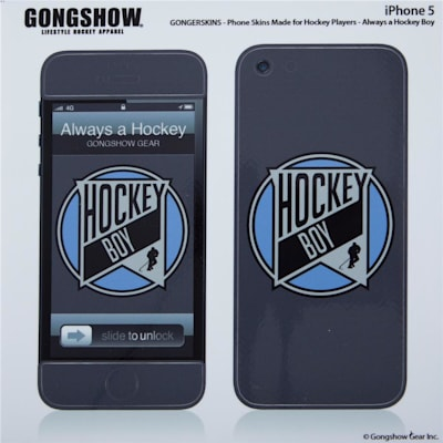 (Gongshow Always Hockey iPhone 5 Skin)