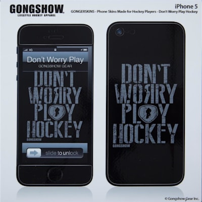 (Gongshow Play Hockey iPhone 5 Skin)