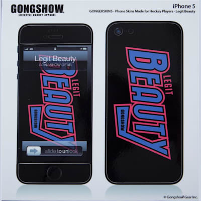 (Gongshow Legit Beauty iPhone 5 Skin)