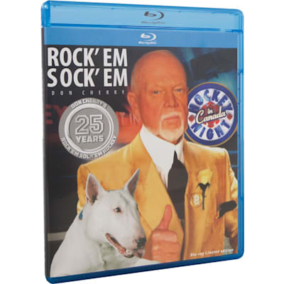 (Don Cherry Rock'Em Sock'Em 25 Years Blu-Ray DVD)