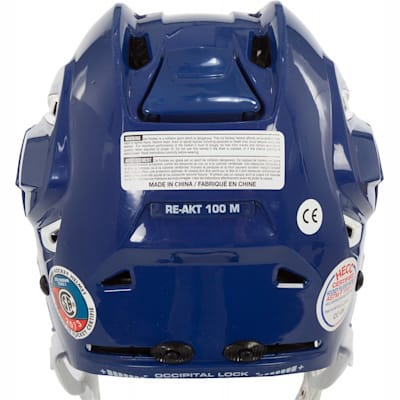 Back (Bauer RE-AKT 100 Hockey Helmet)