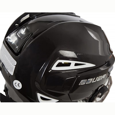 Back Perspective (Bauer RE-AKT 100 Hockey Helmet Combo)