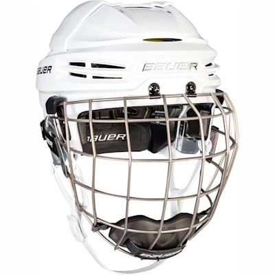 (Bauer RE-AKT 100 Hockey Helmet Combo)