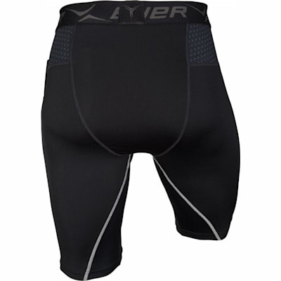 Back (Bauer Next Generation Premium Compression Hockey Shorts - Adult)