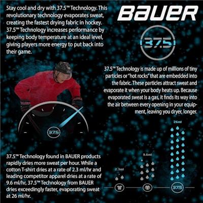 (Bauer Next Generation Core Short Sleeve Performance Hockey Shirt - Adult)