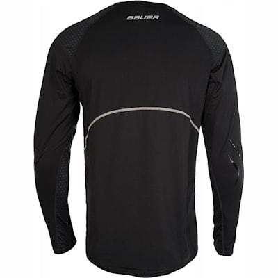 Back (Bauer Premium Grip Crew Long Sleeve Shirt - Youth)
