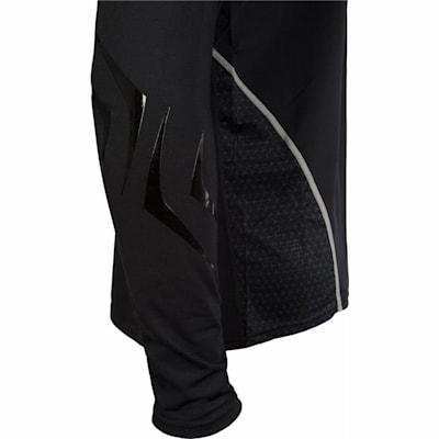 Sleeve Detail (Bauer Premium Grip Crew Long Sleeve Shirt - Youth)