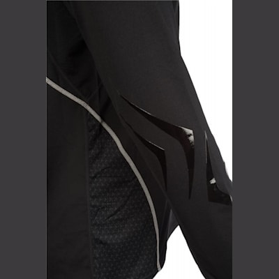 Elbow Detail (Bauer Premium Grip Crew Long Sleeve Shirt - Youth)