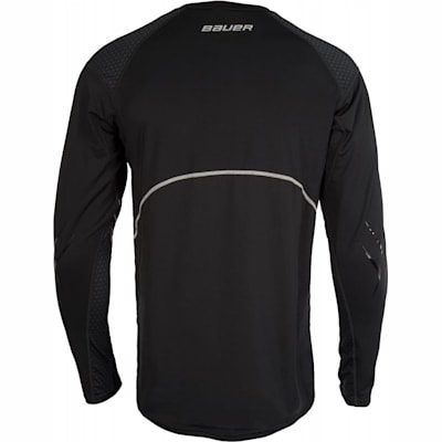 Back (Bauer Premium Grip Crew Long Sleeve Shirt - Adult)
