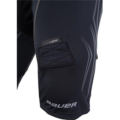 Leg Detail (Bauer Premium Lockjock Hockey Shorts - Senior)