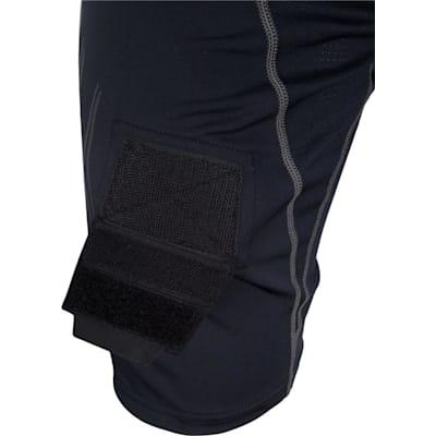 Hook and Loop Detail (Bauer Premium Lockjock Hockey Shorts - Senior)