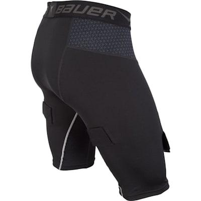 Side (Bauer Premium Compression Hockey Jock Shorts - Boys)