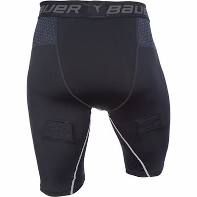 Back (Bauer Premium Compression Hockey Jock Shorts - Senior)