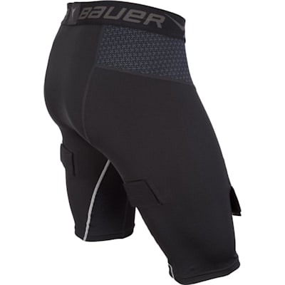 Side (Bauer Premium Compression Hockey Jock Shorts - Senior)