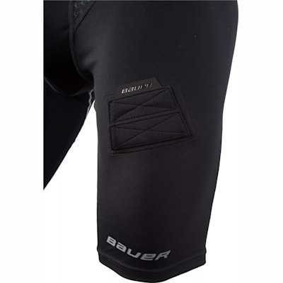 Leg Detail (Bauer Premium Compression Hockey Jock Shorts - Senior)