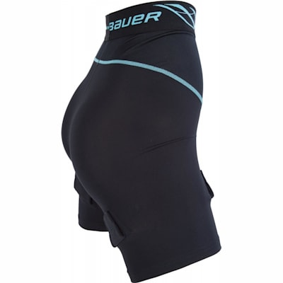 Side View (Bauer Next Generation Compression Jill Shorts - Women - Womens)