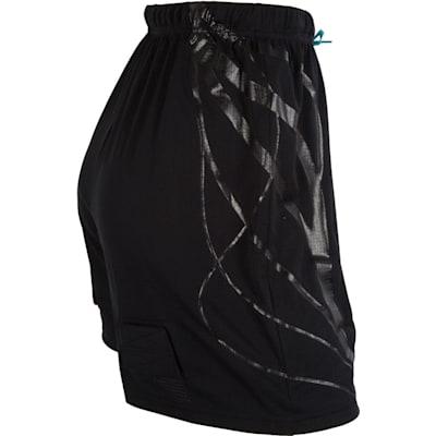 Side View (Bauer NG Mesh Jill Hockey Shorts - Girls)