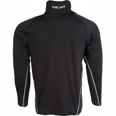 (Bauer NG Premium NeckProtect Long Sleeve Shirt - Youth)