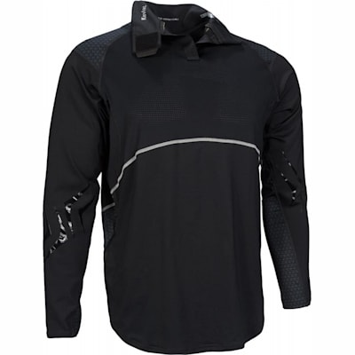 NG Premium NeckProtect Long Sleeve Shirt (Bauer Next Generation Premium Long Sleeve Shirt w/Integrated Neck Protection - Adult)