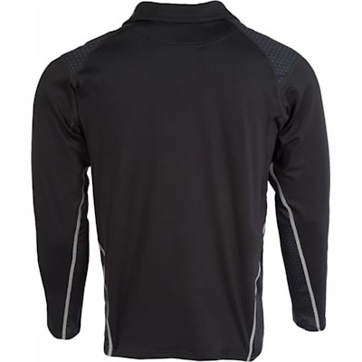 (Bauer Next Generation Premium Long Sleeve Shirt w/Integrated Neck Protection - Adult)