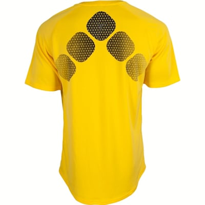 Back View (Bauer Training Short Sleeve Shirt - Youth)