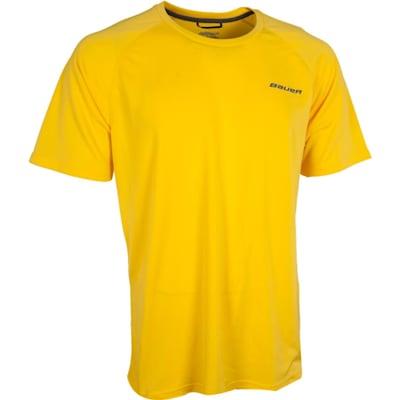 Yellow (Bauer Training Tee Shirt - Youth)