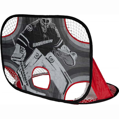 Goalie-Side Target (Warrior Pop-Up Mini Hockey Net w/ Sticks & Ball)