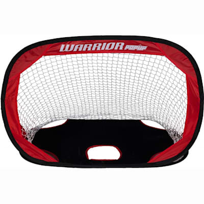 Open Side Of Net (Warrior Pop-Up Mini Hockey Net w/ Sticks & Ball)