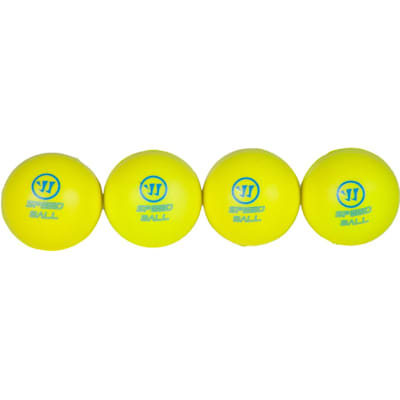 Four-Ball Set (Warrior Mini Hockey Speed Ball - Pack)