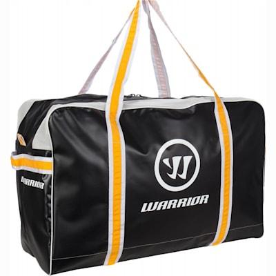 Black/Sport Gold (Warrior Pro Player Hockey Carry Bag - Junior)