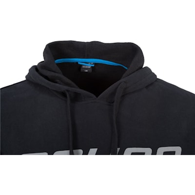 Front Detail (Bauer Core Pullover Hoodie - Mens)