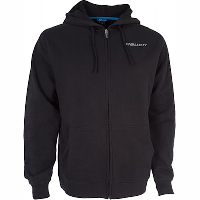 Black (Bauer Core Full-Zip Hoody - Adult)