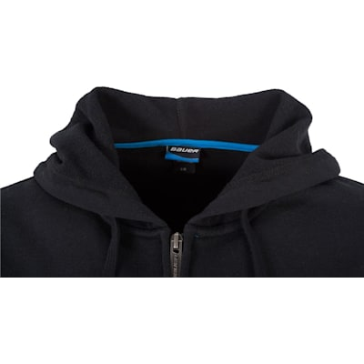 Front Detail (Bauer Core Full-Zip Hoody - Adult)