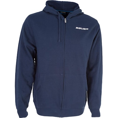 Navy (Bauer Core Full-Zip Hoody - Mens)