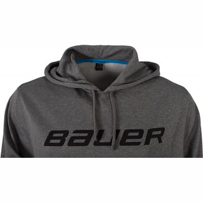 Front Detail (Bauer Core Training Pullover Hoodie - Adult)
