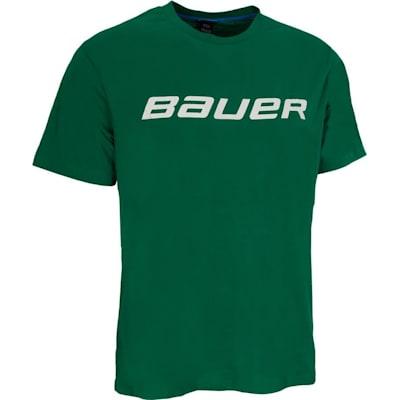 Green (Bauer Core Short Sleeve Hockey Shirt - Boys)