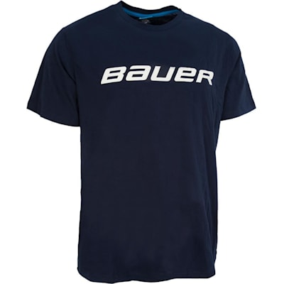 Navy (Bauer Core Short Sleeve Hockey Shirt - Boys)