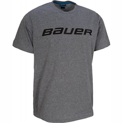 Heather Grey (Bauer Core Short Sleeve Hockey Shirt - Boys)
