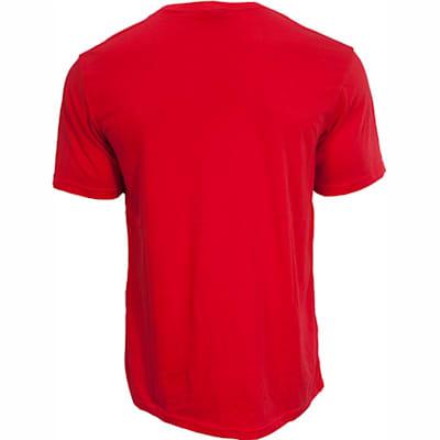 Back View (Bauer Core Short Sleeve Hockey Shirt - Boys)