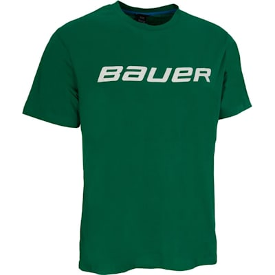 Green (Bauer Core Short Sleeve Hockey Shirt - Mens)