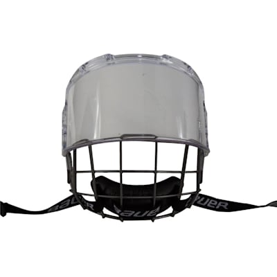 Front View (Bauer Hybrid Hockey Shield)