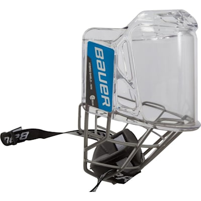 Side View (Bauer Hybrid Hockey Shield)