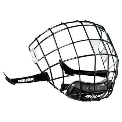 I2 (Black Outside, White Inside) (Bauer Profile II Facemask)
