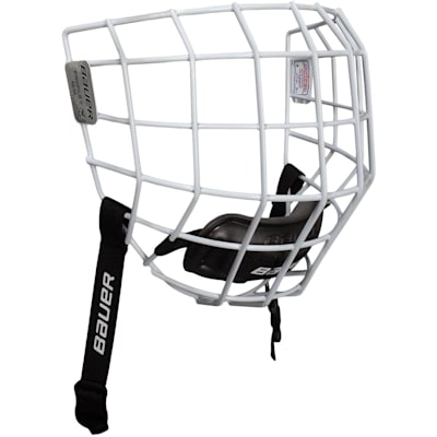 White (Bauer Profile II Facemask)