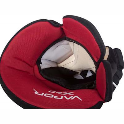 Liner View (Bauer Vapor X60 Gloves - Senior)