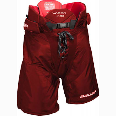 Red (Bauer Vapor X100 Hockey Pants - Senior)