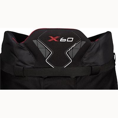 Back Detail (Bauer Vapor X60 Hockey Pants - Senior)