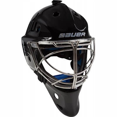 NME 8 Non-Certified Cat-Eye Cage - Black (Bauer NME 8 Non-Certified Hockey Goalie Mask - Senior)