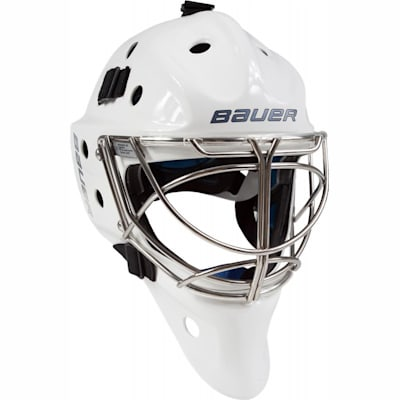 NME 8 Non-Certified Cat-Eye Cage - White (Bauer NME 8 Non-Certified Hockey Goalie Mask - Senior)