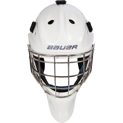 Front (Bauer NME 8 Certified Straight Bar Hockey Goalie Mask - Senior)